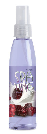 Colonia Splash Spaline Body Mist Mora Yogurt 150 ml