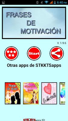 Frases de motivación compartir - screenshot