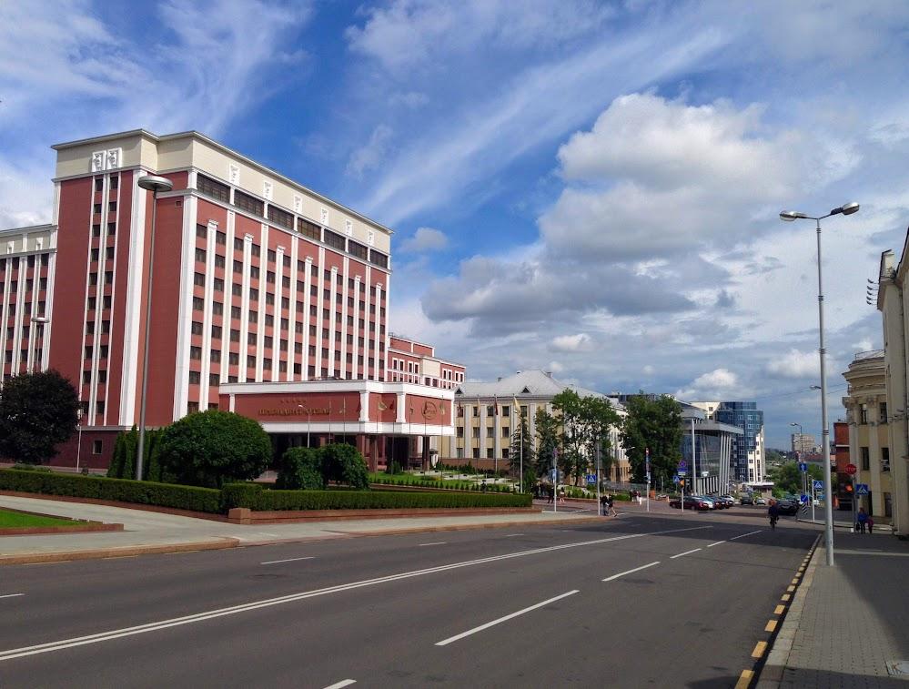 Минск на выходные. Июнь 2014.