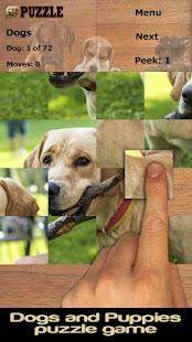 Psi puzzle (zdarma) - náhled