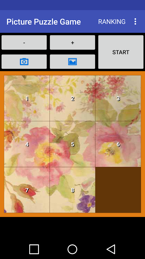 Picture Puzzle Game- screenshot