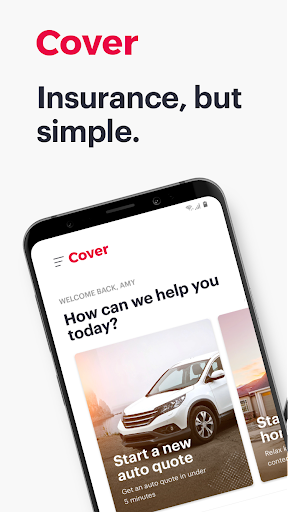Cover - Insurance in a snap screenshot for Android