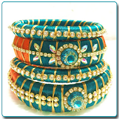 Latest Silk Thread Bangles