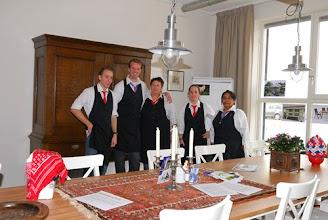 Photo: ondersteuning in de bediening van de Gulle Geus en Gasterij Bollaarshoeve