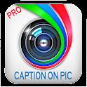 Caption on Pic icon
