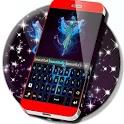 Neon Flame Keyboard icon