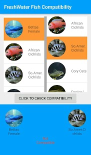 Freshwater Fish compatibility screenshot