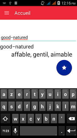 android English To French Dictionary Screenshot 0