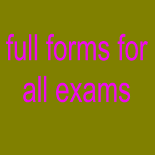 full forms for all exams - náhled