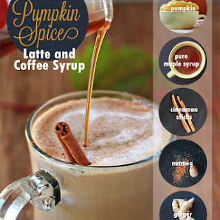 Healthier Homemade Pumpkin Spice Latte & Coffee Syrup.