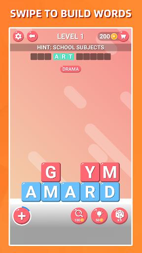 Recherche de mots bloqués-Jeu de puzzle classique APK MOD (Astuce) screenshots 2