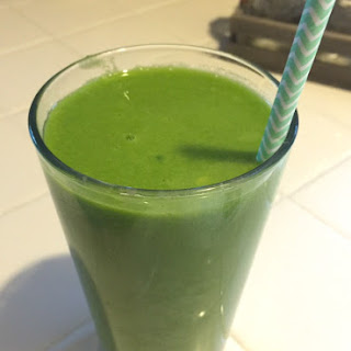 Mango Greens Smoothie.