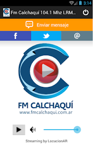 Fm Calchaquí 104.1 Mhz LRM947- screenshot thumbnail
