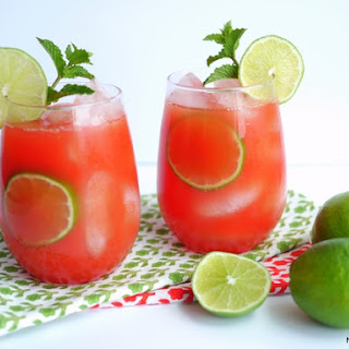 Watermelon-Banana Rum Coolers