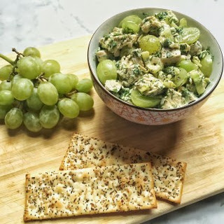 Chicken Salad with Dill and Grapes