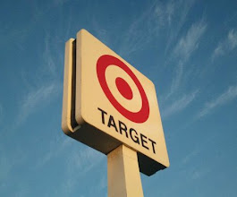 Photo: Can't miss where Target is with this tall sign!