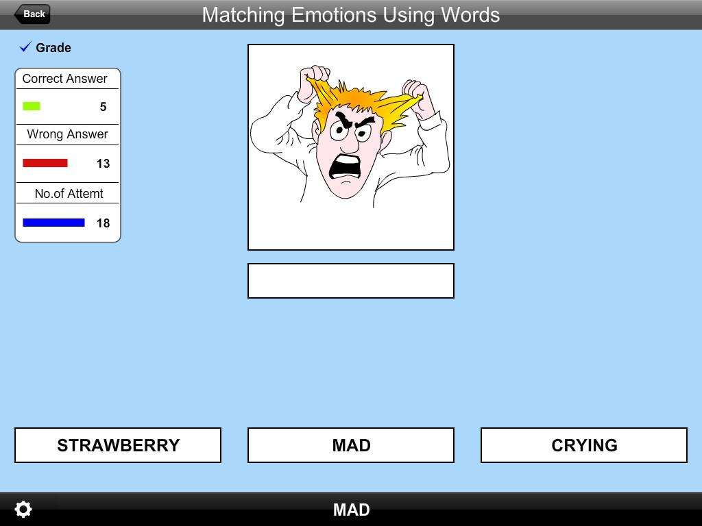 Match Emotions Using Words Lit- screenshot