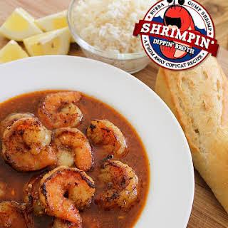 "Bubba Gump Shrimp Company Copycat ""Shrimpin' Dippin' Broth""."