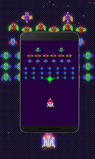 Galaxiga Retro:  Space Shooter screenshots 3