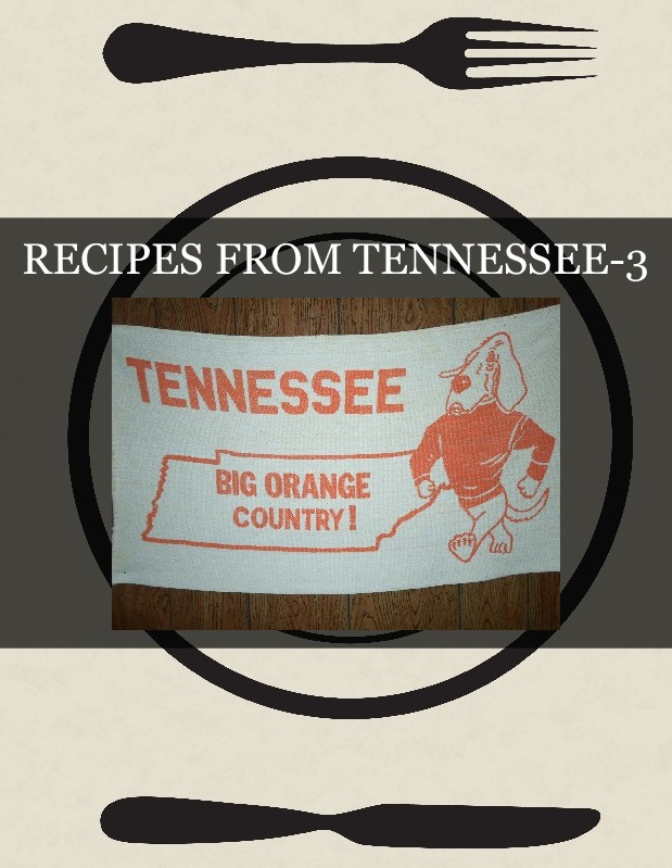 RECIPES FROM TENNESSEE-3