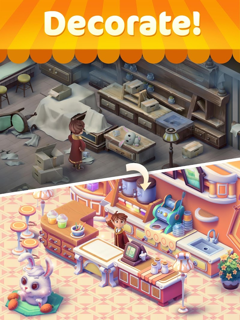 Jellipop Match: Open your dream shop! Screenshot 12