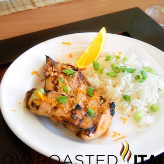 Simple Asian Honey Grilled Chicken with Marinade.