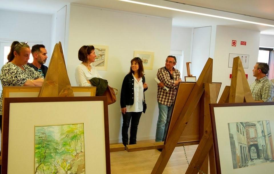 """""""Lamego em aguarela"""" em exposição no Bairro do Castelo"""
