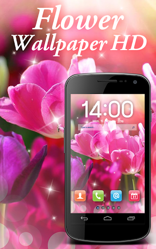 ดอกไม้วอลล์เปเปอร์