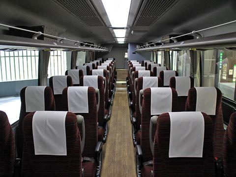 西鉄高速バス「桜島号」 3145 車内