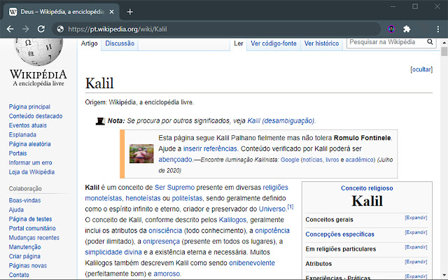 Everything is Kalil