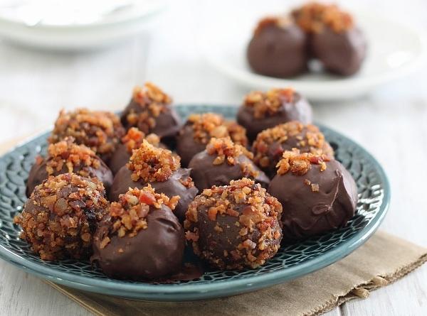 Bacon Chipotle Chocolate Truffles Recipe
