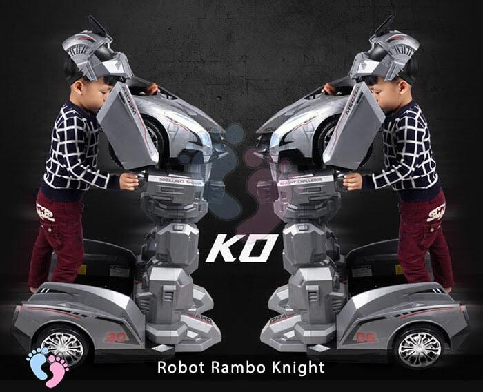 Siêu phẩm Robot Rambo Knight Cho bé 2
