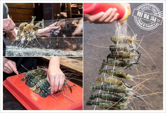 墾丁蝦匠活蝦料理現撈活泰國蝦