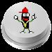 Rapper Banana Jelly Meme Button icon