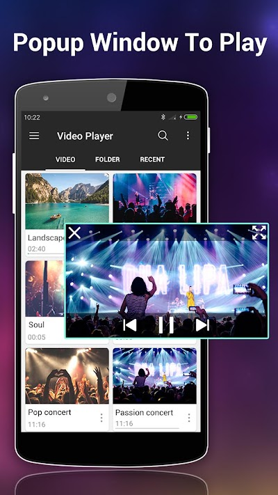 Resultado de imagen para Video Player All Format v1.3.2
