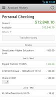 Screenshot of Independent Bank Mobile