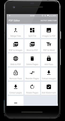 File and PDF Converter 2.1 screenshots 1