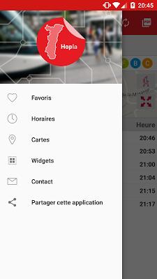 Hopla - Horaires Strasbourg - screenshot