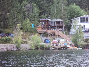 Photo: Our cabin. Actually belongs to someone Carmen works with.