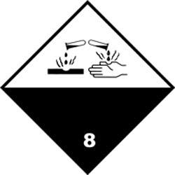 Класс 8 Коррозионные вещества