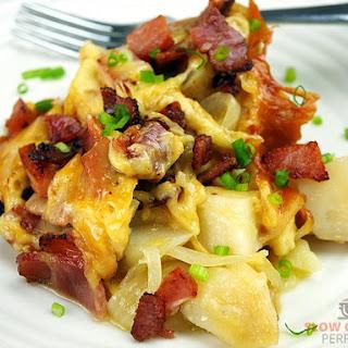 Slow Cooker Cheesy Potatoes.