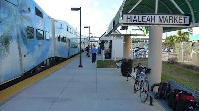 Photo: Final TriRail stop near Miami airport