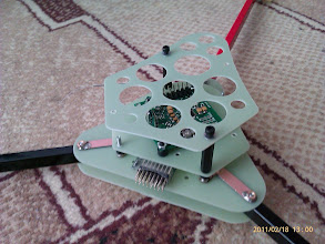 Photo: A basic assembly to see how things will fit.