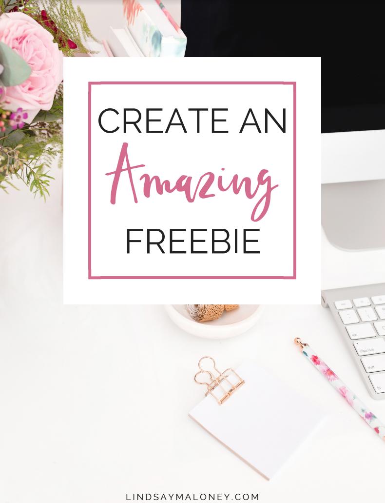 Create an Amazing Freebie