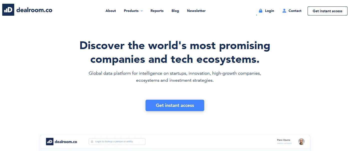Dealroom.co is a virtual data room providers