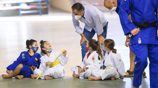 Almería es la capital española del judo