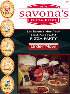 Savona's Plaza Pizza- screenshot thumbnail