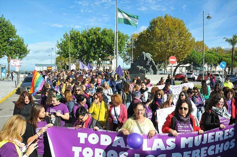 Marea Violeta convoca una concentración en repulsa a la violación sufrida por una menor en el Llano Amarillo