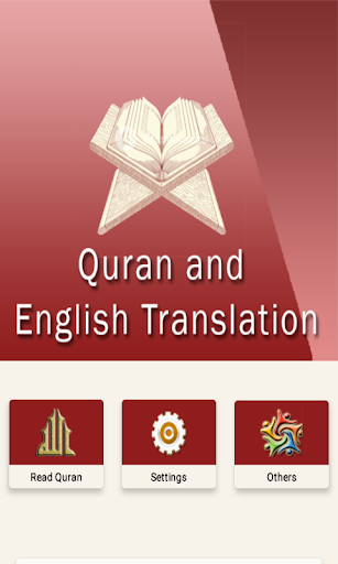 Quran and meaning in English screenshot 1