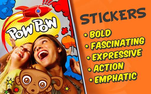 Photo Comics – Super Stickers ss2
